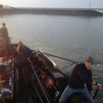 Aanlopen NIOZ-haven EB58 2012